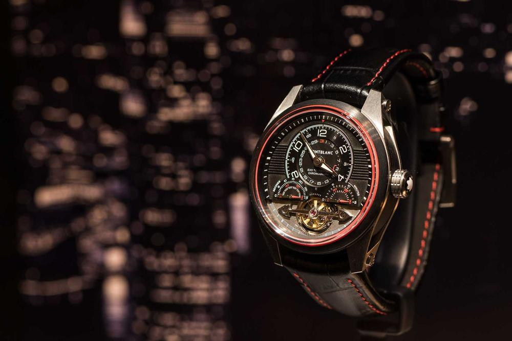 ExoTourbillon Minute Chronograph Limited Edition 100., Montblanc