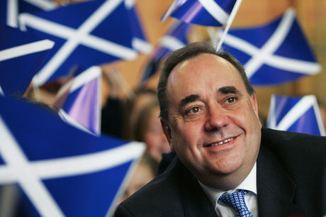 Alex Salmond van de Scottish National Party