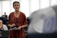 Europees commissaris Vestager heeft nog multinationals in vizier