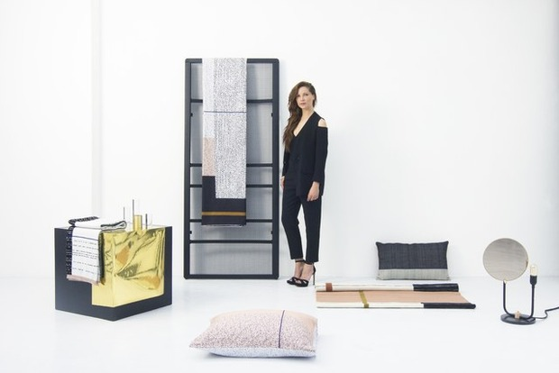 Mae Engelgeer ontwikkelt limited edition collectie voor Auping