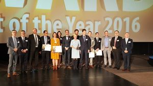 Supply Chain Awards voor Bridgestone, Volvo Cars en SmartPallet