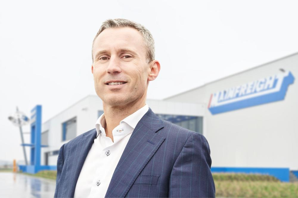 Ben Fitts, CEO van Mainfreight Europe, Flanders Investment & Trade