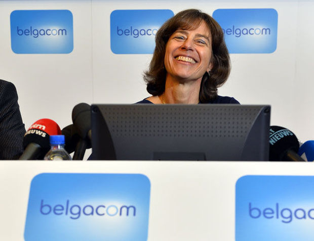Belgacom-topvrouw Dominique Leroy wint Trends Business Women Award