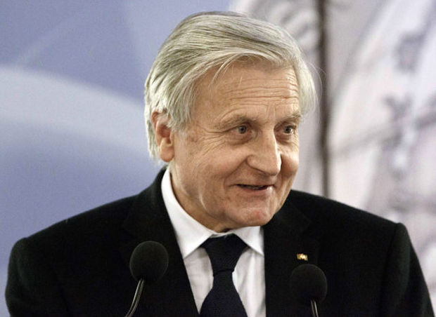"Trichet: ""Rood alarm in eurozone"""