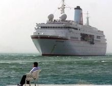 Recordaantal cruisereizigers in Europa ondanks ramp met Costa Concordia