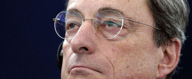 'Draghi (ECB) pompt 700 miljard euro in eurozone'