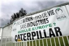 24 urenstaking bij Caterpillar in Charleroi