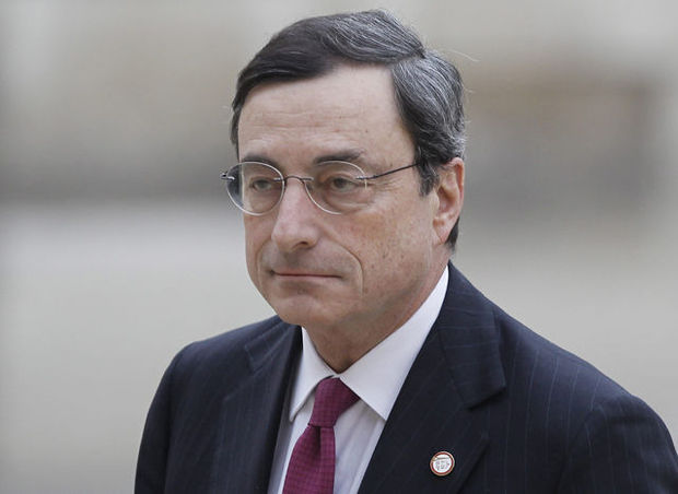 Ministers eurozone achter Draghi als voorzitter ECB
