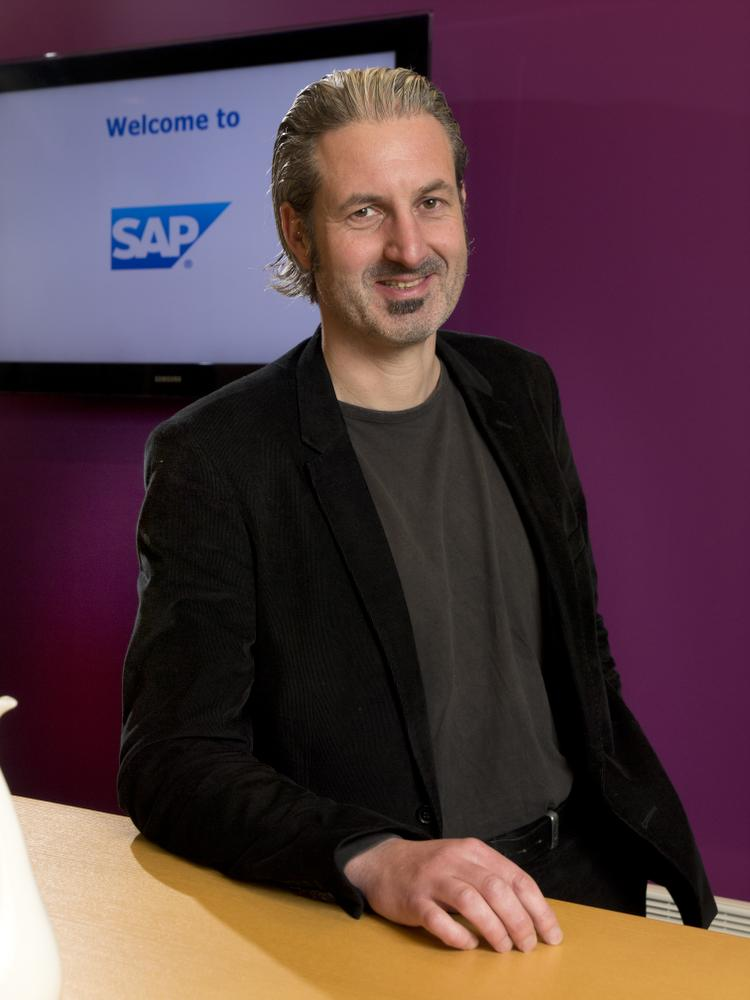 Johan Mine, Business Development Manager SME bij SAP België.