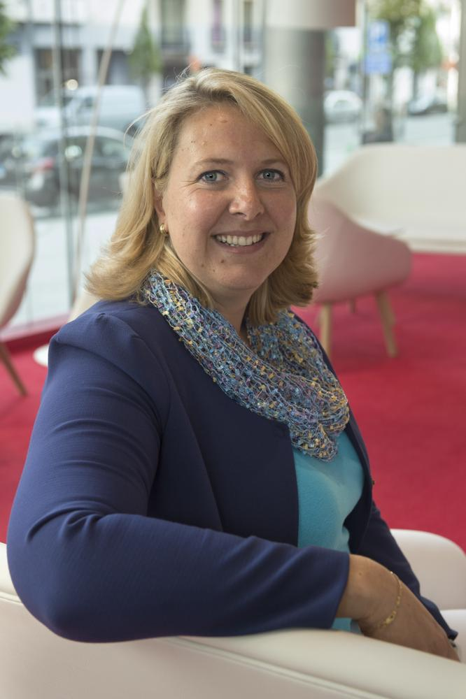 Isabelle Verhulst, Head of Wealth Analysis & Planning bij Belfius.