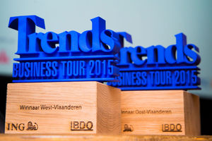 In beeld: Trends Business Tour Oost- en West-Vlaanderen
